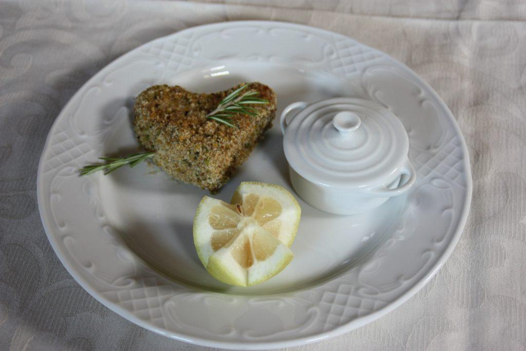 Villa Giuffrida trancio di pesce spada in crosta di pistacchio