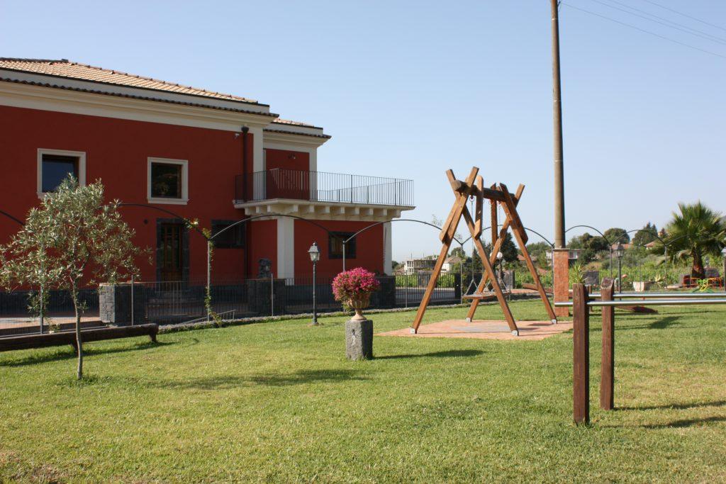 Ricevimenti Zafferana : Il parco giochi di Villa Giuffrida