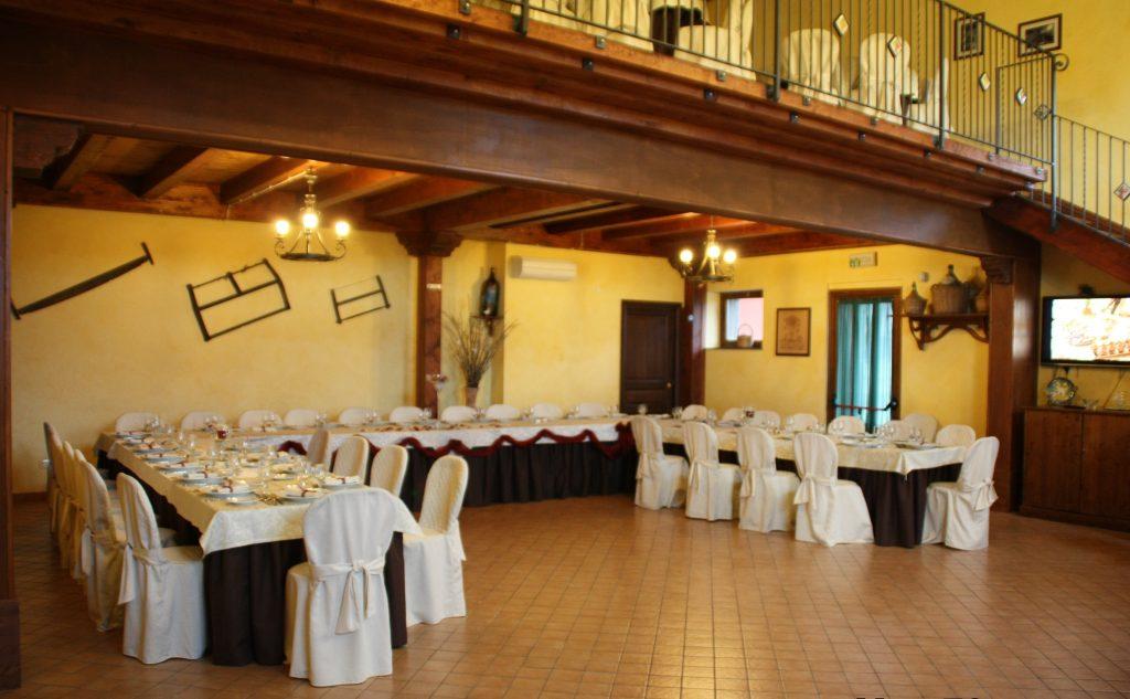 Villa giuffrida Zafferana etnea la sala Interna