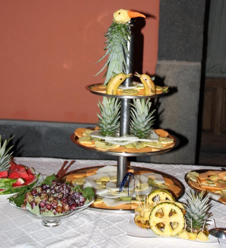 Villa giuffrida tagliata di frutta